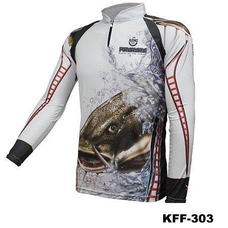 Camiseta de Pesca King Com Proteção Solar UV50+ - KFF303