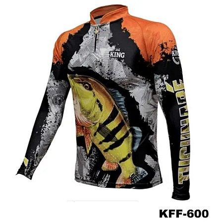 Camiseta de Pesca King Com Proteção Solar UV50+ - KFF600