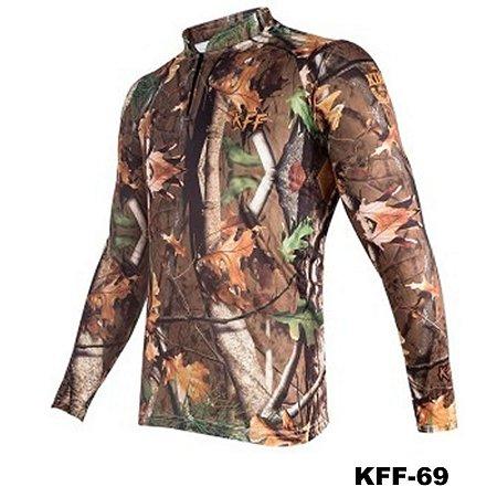 Camiseta de Pesca King Com Proteção Solar UV50+ - KFF69