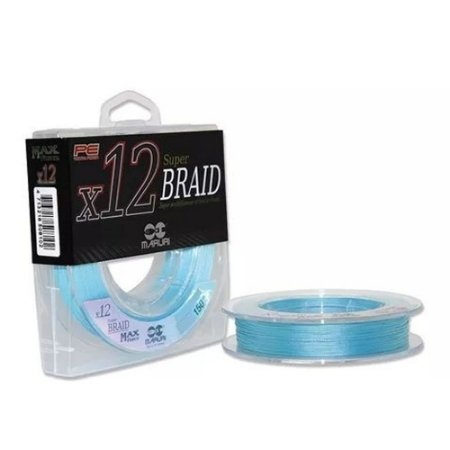 Linha Multifilamento Maruri Super Braid 12x 0.30mm 32kg 150m