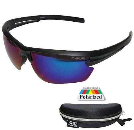 Óculos de Pesca Polarizado Maruri DZ6575 Lente Espelhada
