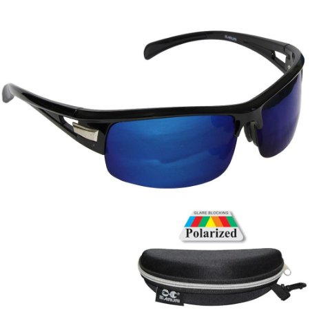Óculos de Pesca Polarizado Maruri DZ6501 Lente Espelhada