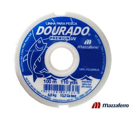 Linha Monofilamento Mazzaferro Dourado Premiun 0.50mm 100m