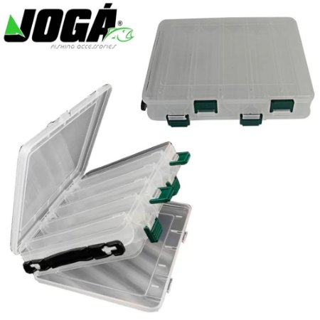 Estojo Porta iscas Bait Box Jogá HS328 Com 10 Repartições
