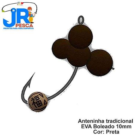 Anteninhas Tradicional JR Pesca Cor Preto