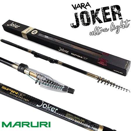 Vara Maruri Ultra Light Joker Spin8 Peso 104g 2,40mts Lançamento
