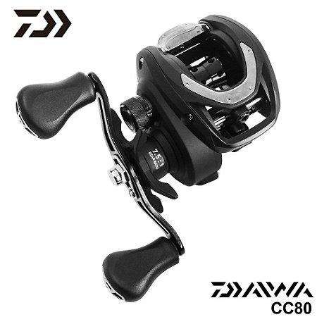 Carretilha Daiwa CC80 Drag 7Kg Com 5 Rolamentos e Recolhimento 7.5:1