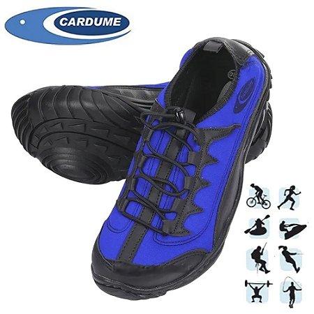 Tenis Cardume Anfibius Pesca Caiaque Trilha Jet Sky Azul