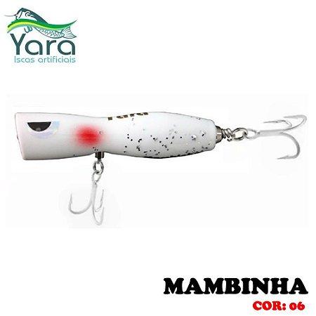Isca Artificial Popper Yara Mambinha 9Cm 18g Cor-06