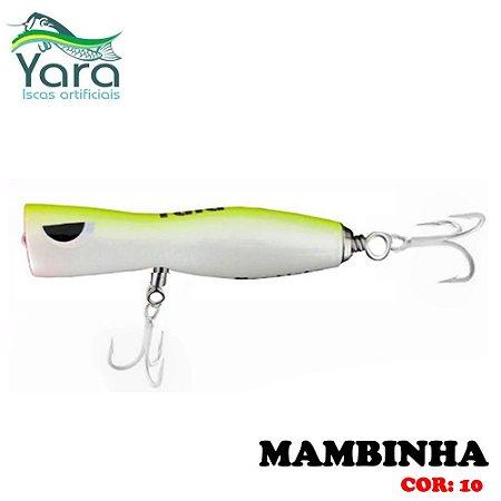 Isca Artificial Popper Yara Mambinha 9Cm 18g Cor-10