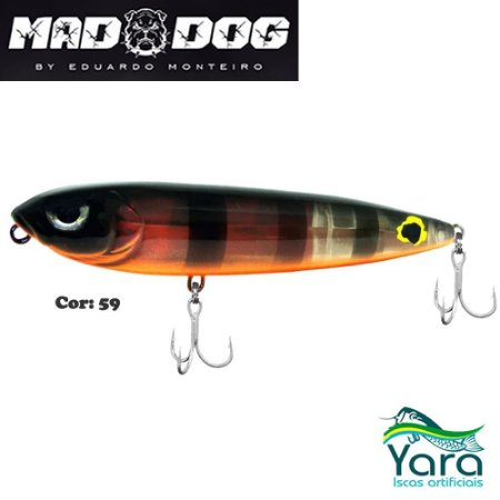 Isca Artificial Yara Mad Dog 9cm 13g By Eduardo Monteiro Cor 59
