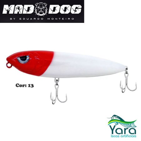 Isca Artificial Yara Mad Dog 9cm 13g By Eduardo Monteiro Cor 13