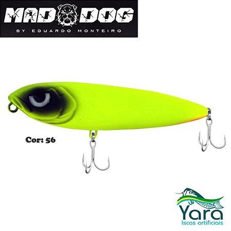 Isca Artificial Yara Mad Dog 12cm 26g By Eduardo Monteiro Cor 56