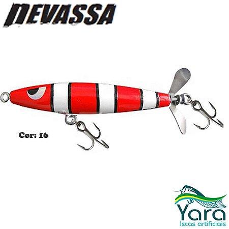 Isca Artificial Yara Devassa 9cm 17g Superfície Hélice Cor 16