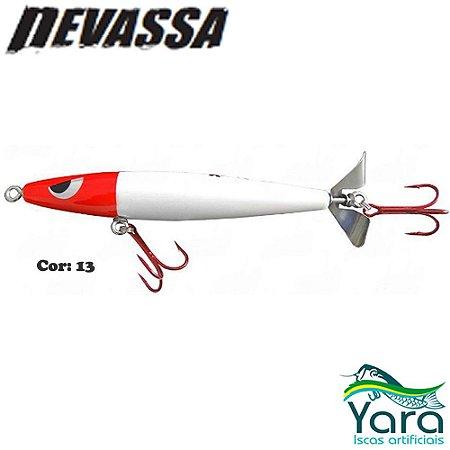 Isca Artificial Yara Devassa 14cm 35g Superfície Hélice Cor 13