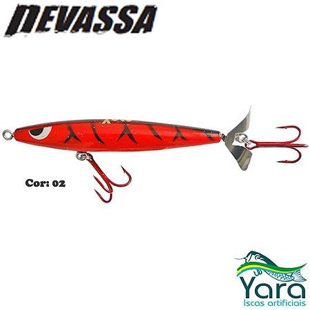 Isca Artificial Yara Devassa 14cm 35g Superfície Hélice Cor 02