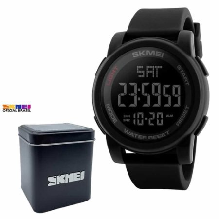 Relógio de Pulso Skmei 1257 Digital Esportivo Preto