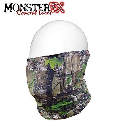 Máscara de Proteção Solar Bandana Monster 3X Camo 01