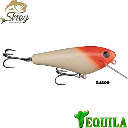 Isca Artificial Tequila Strey 85mm 14grs Cor 14200 Cabeça Vermelha