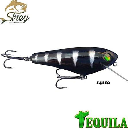 Isca Artificial Tequila Strey 85mm 14grs Cor 14110 Preto