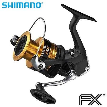 Molinete Shimano Fx 4000 Drag 8,5Kg Com 3 Rolamentos