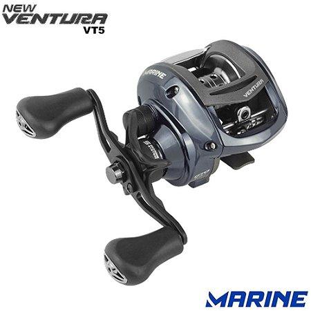 Lançamento Carretilha Marine New Ventura VT5 Drag 4Kg Recolhimento 7.0:1