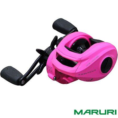 Carretilha Maruri Montana 10000 Pink Drag 6,5kg Lançamento