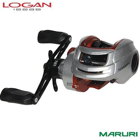 Carretilha Maruri Logan 10000 10 Rolamentos Drag 4,5Kg Recolhimento: 7.0:1