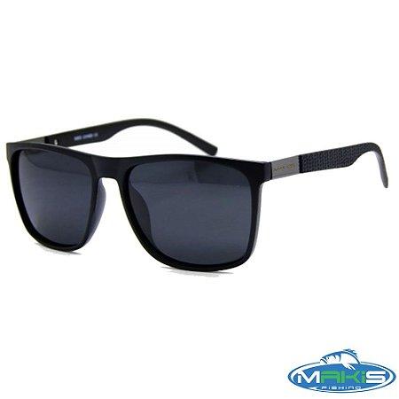 Óculos Polarizado Makis Fishing H1023 Lente Preta
