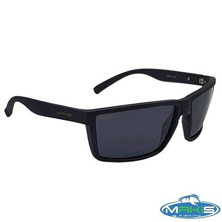 Óculos Polarizado Makis Fishing Preto P1971 C30 Lente Preta