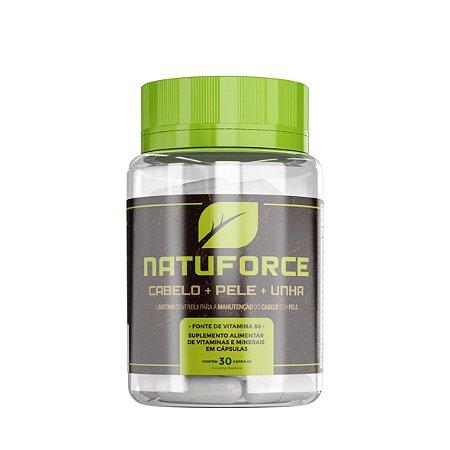 Naturale - NatuForce 30caps - Cabelo + Pele + Unha
