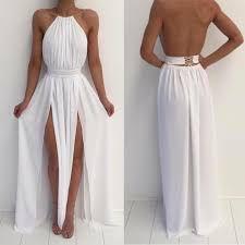 351789fcc Vestido Frente Única duas Fendas Branco - @ateliemyway - Ateliê My Way