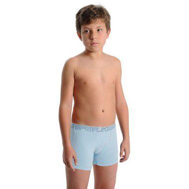 Kit 10 Cuecas Boxer Infantil Cotton