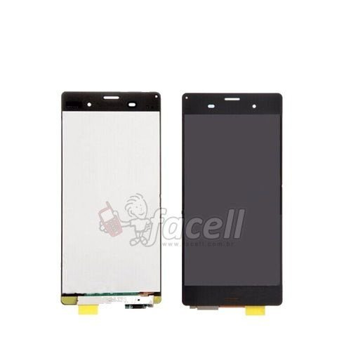 Touch + LCD (Frontal) Sony Xperia Z3 Compact D5803 / D5833 Preto - 1ª Linha