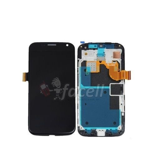 Touch + LCD (Frontal) Motorola Moto X  XT1058 / XT1060 Preto - C/aro  1ª Linha