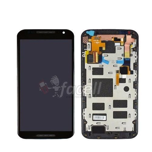 Touch + LCD (Frontal) Motorola Moto X2 1097 Preto - 1ª Linha
