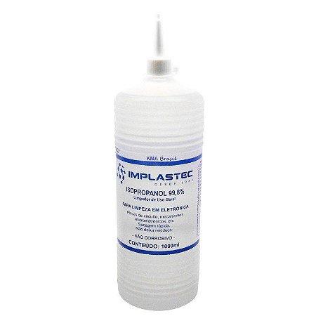Alcool isopropílico 1L Implastec