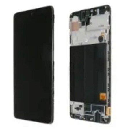Display Compleo Samsung A12 (Sm-A125) Com Aro - Original