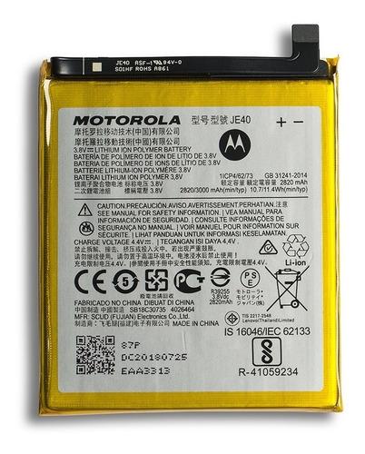 Bateria Moto E5/ Moto One /G7 Play - Je40 Original