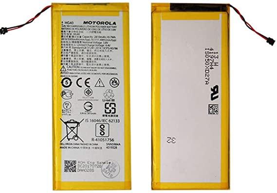 Bateria Moto G5 Plus - Hg40 Original