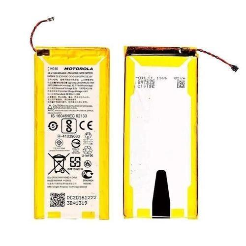 Bateria Moto G5 Plus - Hg40 C/ Cartela