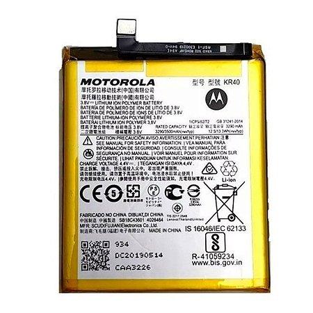 Bateria Moto One - Kr40 C/Cartela