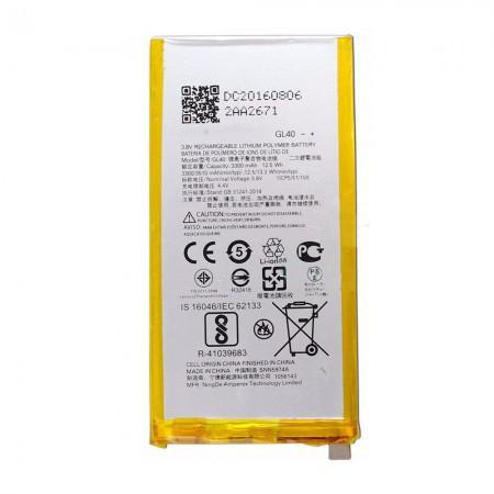 Bateria Moto  Z Play - Gl40 C/Cartela