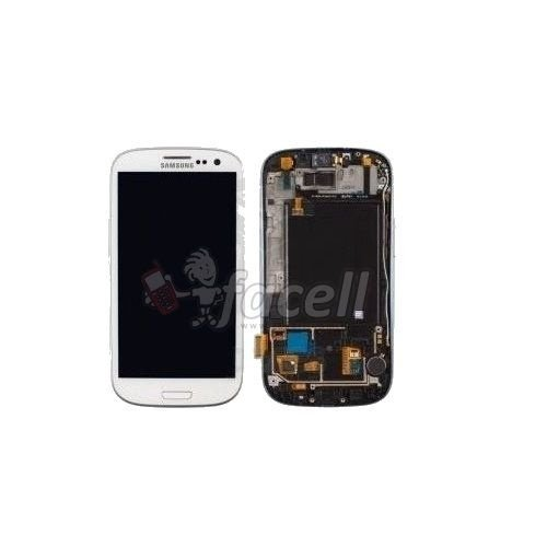 Touch + LCD (Frontal) Samsung Galaxy S3 I9300 - Branco