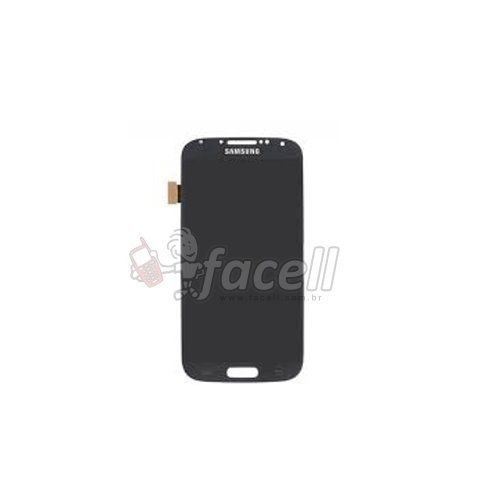 Touch + LCD (Frontal) Samsung Galaxy S4 I9500 - Preto