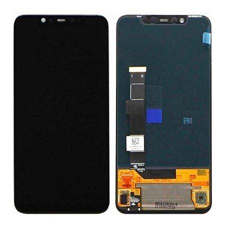 Frontal Xiaomi Mi 8 - Qualidade Oled Preto