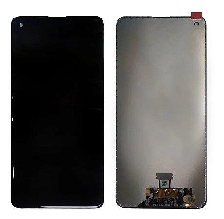 Frontal Samsung A21 - Original Preto C/Aro