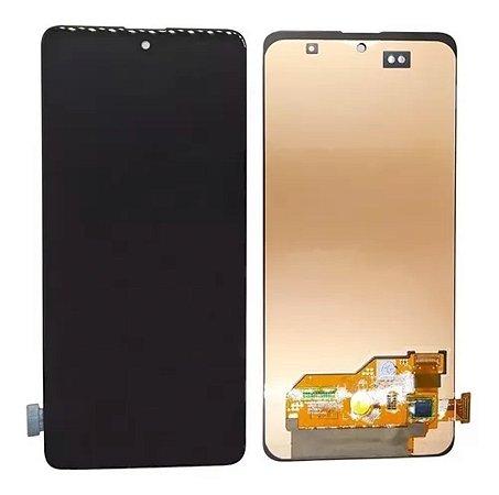 Frontal Samsung A51 - Incell Preto S/Aro