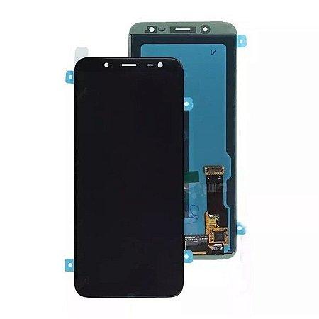 Frontal Samsung A6 - Plus Incell Preto S/Aro