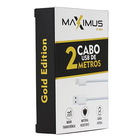 Cabo de Dados   Maximus  Ge-M03 Ios 2 Metros